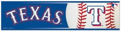 TEXAS RANGERS -  BUMPER STICKER