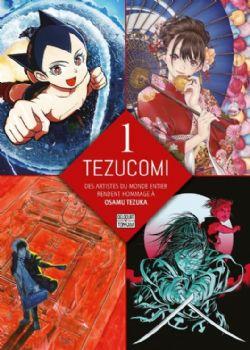 TEZUCOMI -  DES ARTISTES DU MONDE ENTIER RENDENT HOMMAGE À OSAMU TEZUKA 01
