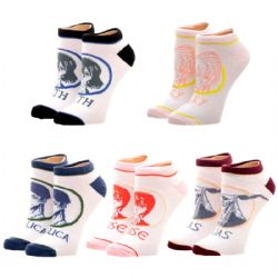 THE ANCIEN MAGUS BRIDE -  5 PAIRS OF ANKLE SOCKS (9-11)