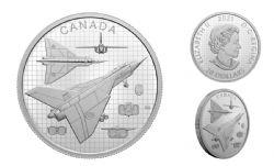THE AVRO ARROW -  2021 CANADIAN COINS