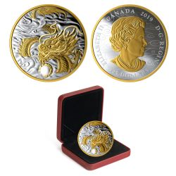 THE BENEVOLENT DRAGON -  2019 CANADIAN COINS