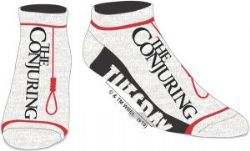 THE CONJURING -  PAIR OF WHITE ANKLE SOCKS