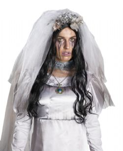 THE CURSE OF LA LLORONA -  THE CURSE OF LA LLORONA WIG (ADULTE)