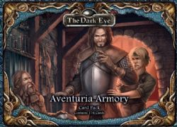 THE DARK EYE -  AVENTURIA ARMORY - THE CARD PACK (ENGLISH)