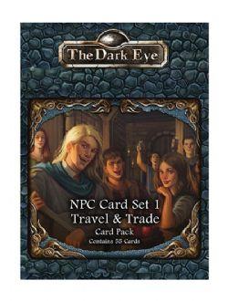 THE DARK EYE -  TRAVEL & TRADE - TDE CARD PACK (ENGLISH) -  NPC CARD SET 1