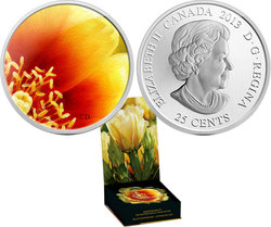 THE EASTERN PRICKLY PEAR CACTUS -  2013 CANADIAN COINS