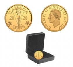 THE END OF THE SECOND WORLD WAR: THE VICTORY NICKEL -  2020 CANADIAN COINS