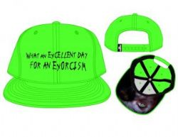 THE EXORCIST -  NEON GREEN SNAPBACK