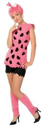 THE FLINTSTONES -  PEBBLES FLINTSTONE COSTUME (TEEN - STANDARD 2-6)