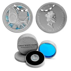 THE GREAT WHITE SHARK -  2012 NEW ZEALAND MINT