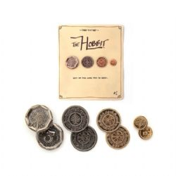THE HOBBIT -  THE SHIRE FOUR COINS SET