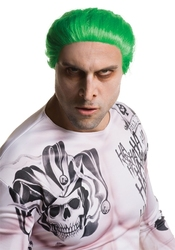 THE JOKER -  GREEN WIG (ADULT) -  SUICIDE SQUAD