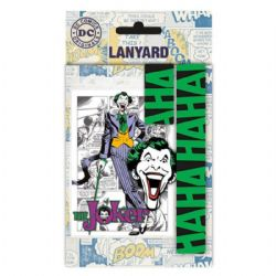 THE JOKER -  LANYARD WITH CHARM - BLACK/GREEN
