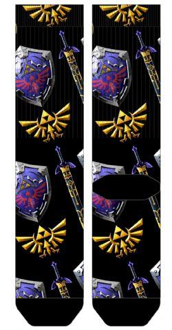 THE LEGEND OF ZELDA -  1 PAIR OF SOCKS (ONE SIZE) -  TWILIGHT PRINCESS