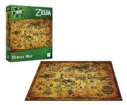 THE LEGEND OF ZELDA -  HYRULE MAP (1000 PIECES)