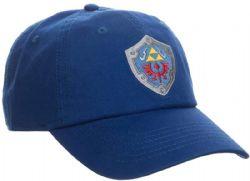 THE LEGEND OF ZELDA -  SHIELD ADJUSTABLE CAP - BLUE
