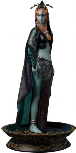 THE LEGEND OF ZELDA : TWILIGHT PRINCESS -  TRUE FORM MIDNA STATUE -  FIRST 4 FIGURES