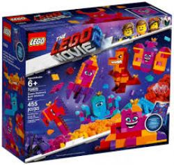 THE LEGO MOVIE 2 -  QUEEN WATEVRA'S BUILD WHATEVER BOX! (455 PIECES) 70825