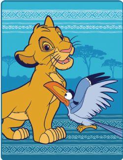 THE LION KING -  SIMBA - PLUSH THROW 45