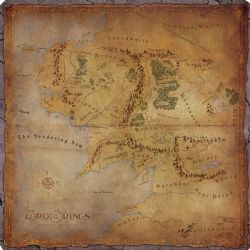 THE LORD OF THE RINGS : JOURNEYS IN MIDDLE-EARTH -  PLAYMAT