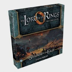 THE LORD OF THE RINGS : THE CARD GAME -  A SHADOW IN THE EAST (ENGLISH)