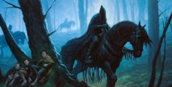 THE LORD OF THE RINGS : THE CARD GAME -  THE BLACK RIDERS PLAYMAT