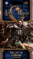 THE LORD OF THE RINGS : THE CARD GAME -  THE CITY OF CORSAIRS - ADVENTURE PACK (ENGLISH)