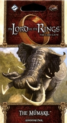 THE LORD OF THE RINGS : THE CARD GAME -  THE MÛMAKIL - ADVENTURE PACK (ENGLISH)