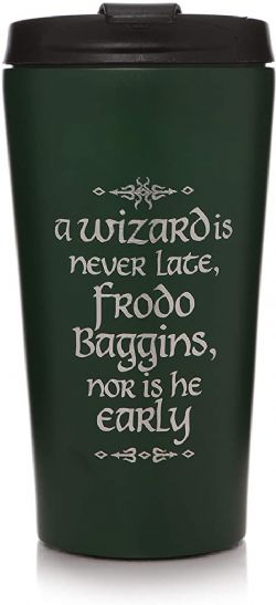 THE LORD OF THE RINGS -  TRAVEL METAL MUG