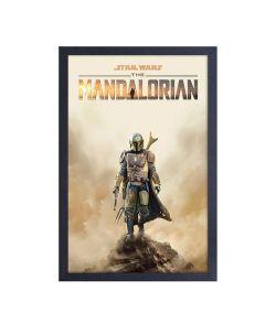 THE MANDALORIAN -  MANDO ON CLIFF (13