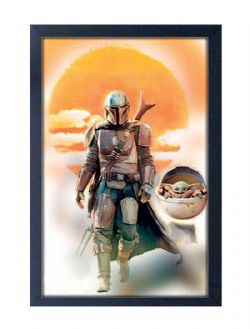 THE MANDALORIAN -  MANDO & YODA PAINTING (13