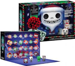 THE NIGHTMARE BEFORE CHRISTMAS -  24 PIECES ADVENT CALENDAR VINYL COLLECTION -  POCKET POP!
