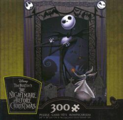 THE NIGHTMARE BEFORE CHRISTMAS -  JACK (300 PIÈCES) -  DISNEY