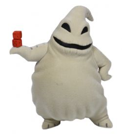 THE NIGHTMARE BEFORE CHRISTMAS -  OOGIE BOOGIE FIGURE -  FLUFFY PUFFY