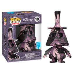 THE NIGHTMARE BEFORE CHRISTMAS -  POP! VINYL FIGURE OF MAYOR WITH PROTECTOR (4 INCH) 10