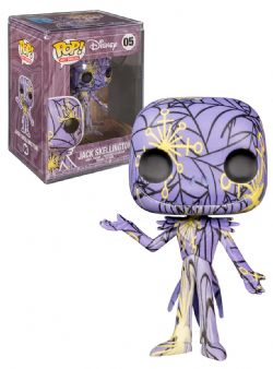 THE NIGHTMARE BEFORE CHRISTMAS -  POP! VINYL FIGURES OF JACK SKELLINGTON WITH PROTECTOR (4 INCH)