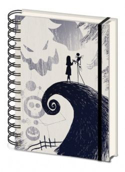 THE NIGHTMARE BEFORE CHRISTMAS -  SPIRAL NOTEBOOK