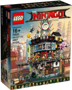 THE NINJAGO MOVIE -  NINJAGO CITY (4867 PIECES) 70620