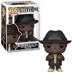 THE NOTORIOUS B.I.G. -  POP! VINYL FIGURE OF NOTORIOUS B.I.G. WITH FEDORA (4 INCH) 152