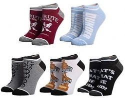 THE OFFICE -  5 PAIR ANKLE SOCKS