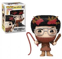 THE OFFICE -  POP! VINYL BOBBLE-HEAD OF DWIGHT SCHRUTE AS BELSNICKEL (4 INCH) 907