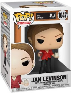 THE OFFICE -  POP! VINYL OF JAN LEVINSON WITH WINE & CANDLE (4 INCH) 1047