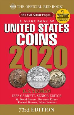 THE OFFICIAL RED BOOK -  A GUIDE BOOK OF UNITED STATES COINS 2020 (73TH EDITION) - SPIRAL