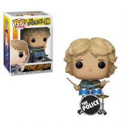 THE POLICE -  POP! VINYL FIGURE OF STEWART COPELAND (4 INCH) 119