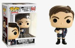 THE UMBRELLA ACADEMY -  POP! VINYL FIGURE OF NUMBER FIVE (4 INCH) 932