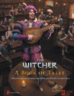 THE WITCHER -  A BOOK OF TALES (ENGLISH)