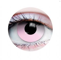 THEATRICAL CONTACT LENSES -  COTTON CANDY - PINK (90 DAYS)