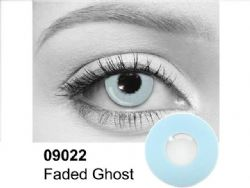 THEATRICAL CONTACT LENSES -  FADED GHOST - BLUE (90 DAYS) 09.022