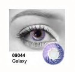 THEATRICAL CONTACT LENSES -  GALAXY - PURPLE (90 DAYS) 09.044