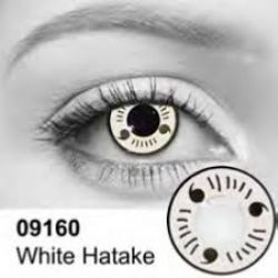 THEATRICAL CONTACT LENSES -  HATAKE - WHITE AND BLACK (90 DAYS) 09.160